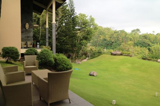 Terrace picture of kalyana resort pakem tripadvisor for Terrace yogyakarta
