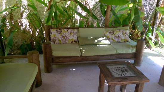 Salon de jardin - Picture of Casa Abanico Tulum - TripAdvisor