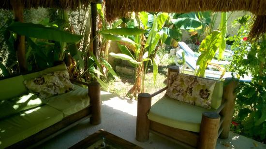 Salon De Jardin Picture Of Casa Abanico Tulum Tulum