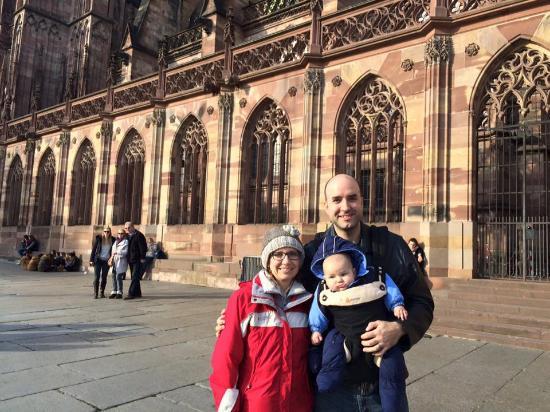 Domkirken Notre Dame de Strasbourg: Happy family