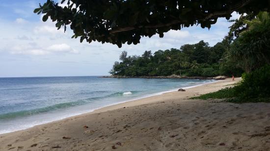Trisara Phuket: une partie plage de l'hôtel
