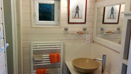 Ceaux, Francia: La Bergerie, salle de bains