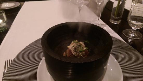 Hotel Albrecht: Tasting menu - Ceviche