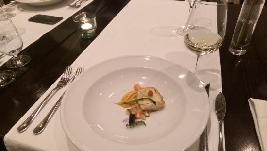 Hotel Albrecht: Tasting menu - Sturgeon