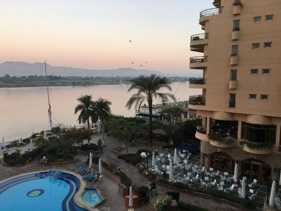 Steigenberger Nile Palace Luxor: North facing Nile side-view