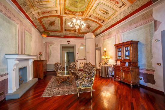 Hotel Fortuna: Sala di lettura
