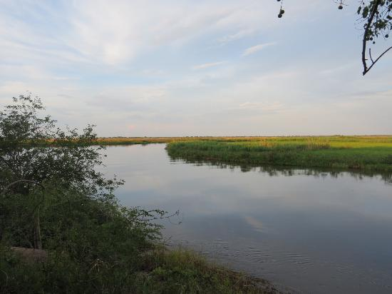 Shakawe, Botsuana: View of the Okavango River