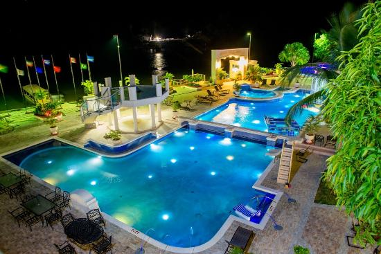 Bartica, Guyana: Night View Of Our Pool