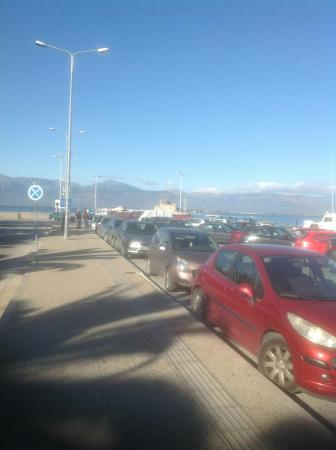 Nauplion Promenade: Freedom Parking on promenade