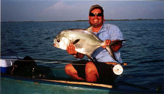 Caribbean Fly Fishing Company Day Tours: My first Permit!! Cuba!!