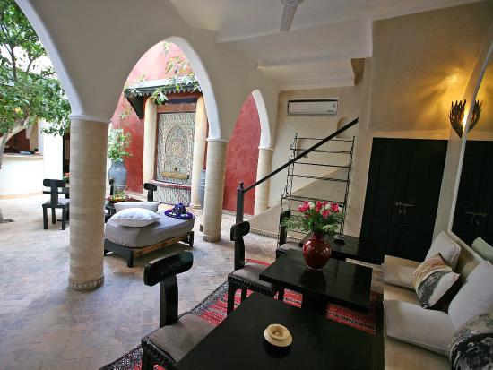 Riad spa sindibad b b marrakech maroc voir les tarifs for Salon zen rabat tarifs