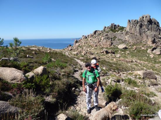 O Pindo, España: Porteando