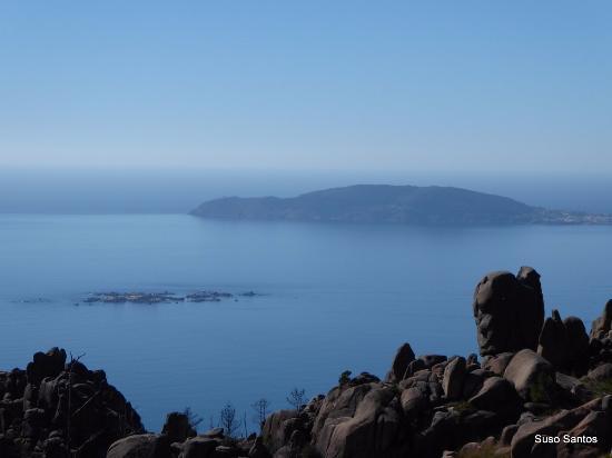 O Pindo, España: Cabo Fisterra al fondo