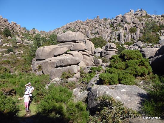 O Pindo, España: Moles de granito