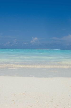 Meeru Island Resort & Spa: Strand Seite 101-122