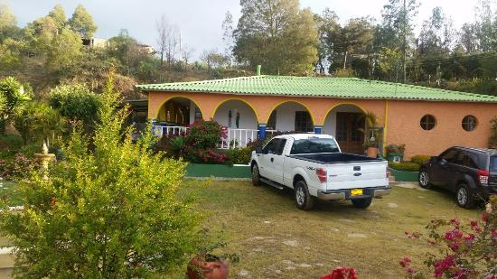 Corrales, Colombia: Zona de parqueo