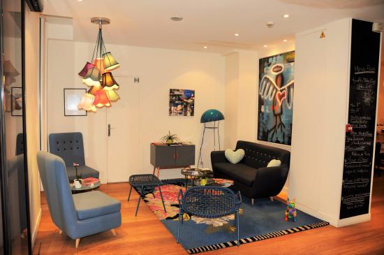 Hotel Villa Boheme: Lobby