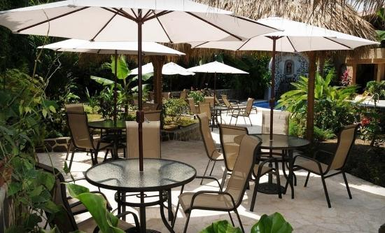 Hotel Costa Coral: Patio