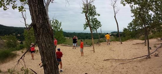 Saugatuck, Μίσιγκαν: Exploring the Dunes by Foot