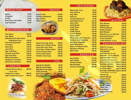 Springs Fast Food