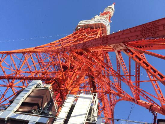 Tokyo Tower: tower down