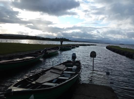 Oughterard, أيرلندا: ancora il molo