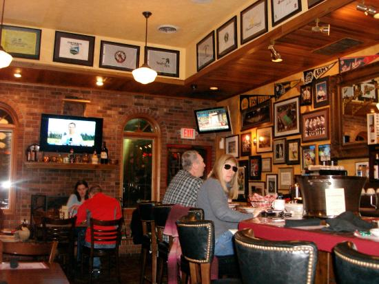 Sports decor picture of muriale s italian restaurant