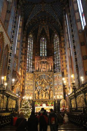 Franciscan Church (Kosciol Franciszkanow): Le coeur principal