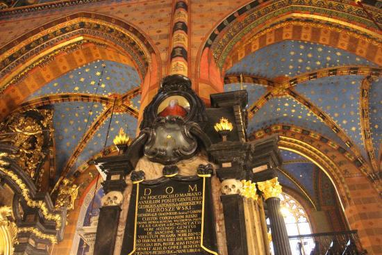 Franciscan Church (Kosciol Franciszkanow): Une des colonnes de l'Eglise