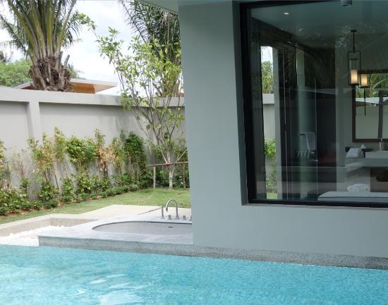 Khok Kloi, Tailandia: Dead Plants at our Deluxe Pool Villa