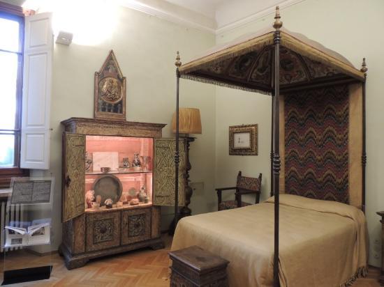 Stanza da letto con baldacchino - Foto di Casa Museo Rodolfo Siviero ...