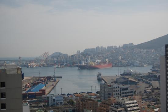 Hotel Commodore Busan: роскошнй вид