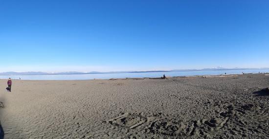 Centennial Beach: Beach area