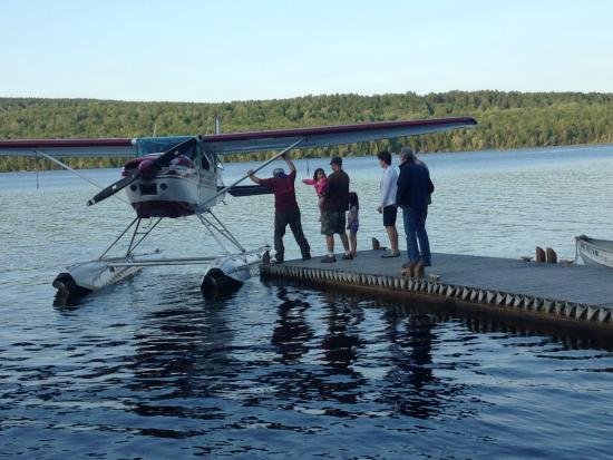 Lincoln, ME: Float plane visit