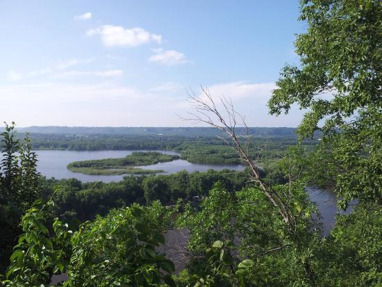 View from Barn Bluff, Red Wing, MN