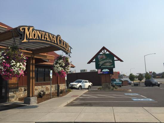 The Montana Club Restaurant Outside Of Kalispell