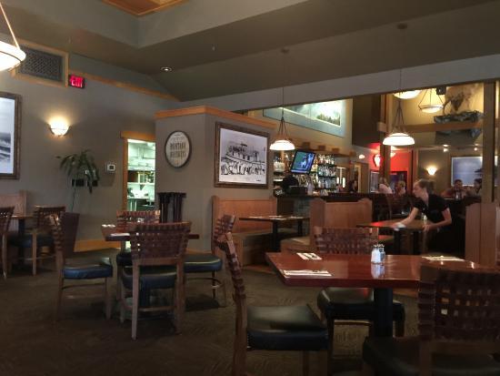 The Montana Club Restaurant Interior Kalispell