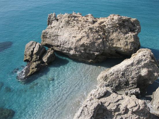 Capistrano Playa : Нерха.Пляж Капистрано. Вид сверху.