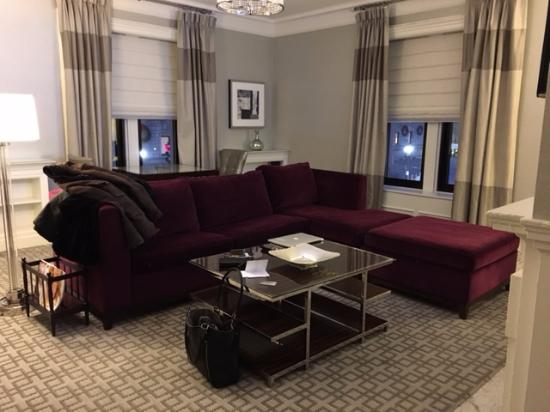 ‪‪Fairmont Copley Plaza, Boston‬: Living room of our suite‬