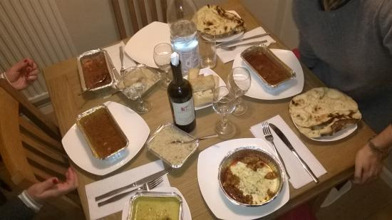 Lavenham, UK: new year's eve dinner