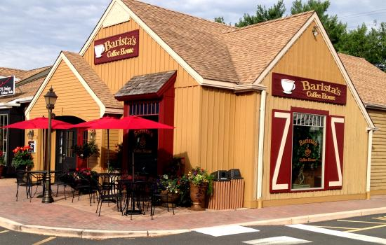 Linwood, Nueva Jersey: Barista's Coffee house in Central Square