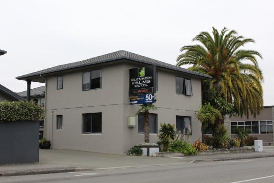 Blenheim Palms Motel: Clean and smart