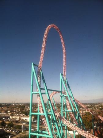 Knott's Berry Farm: View from Sky Cabin