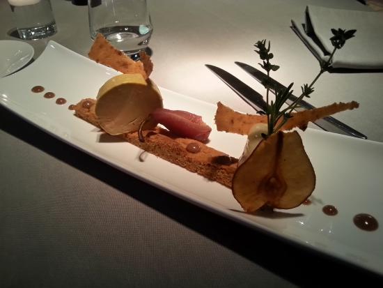 Bonne, Francia: Entrée foie gras
