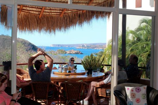 Villa Pacifico: where we ate our delicious meals