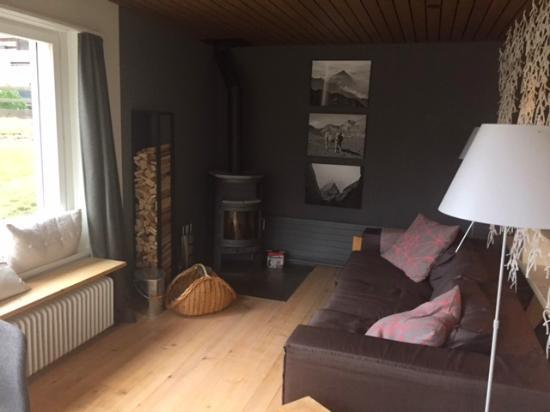 Lenk Lodge: Relax/Speisesaal