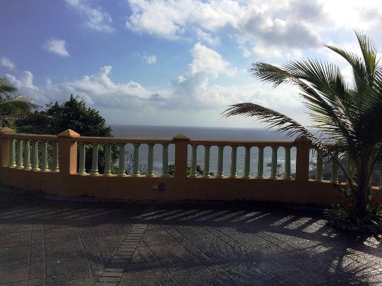 Pimento Lodge Resort: Overlooking the ocean