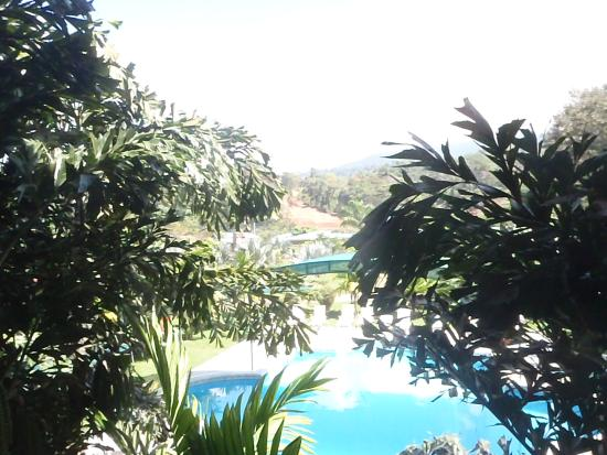 Playa Luna Apart Hotel : Vue sur la piscine