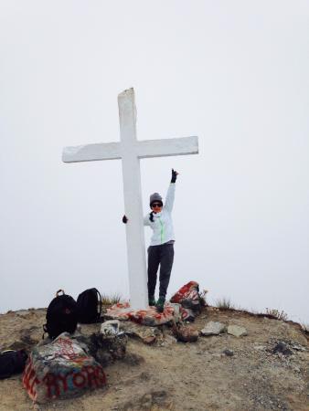 Chiriqui River Rafting: Barbara Monteza en lo más alto de Panama (Volcan Baru)