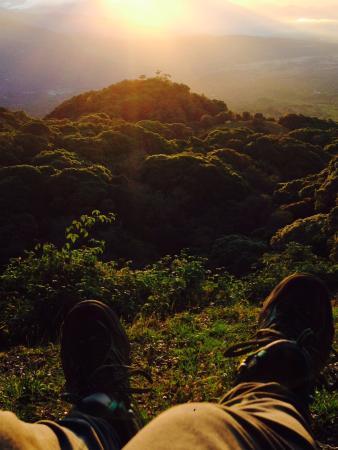 Chiriqui River Rafting: Viendo el amanecer, camino a la cima (Volcan Baru)